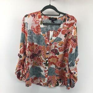 Anthropologie RD + Koko Button Down Shirt NWT